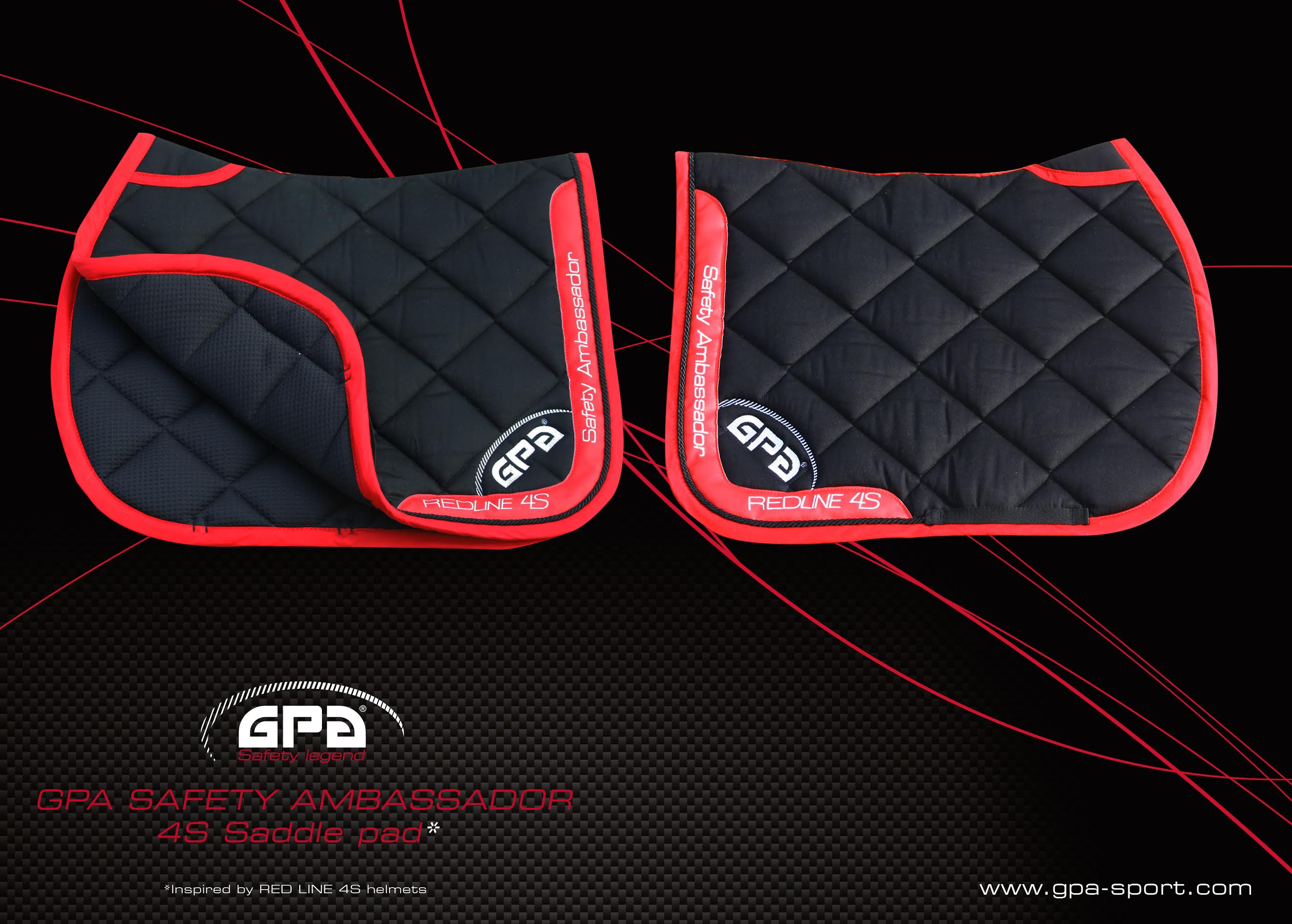 Tapis De Selle Collection Redline Gpa